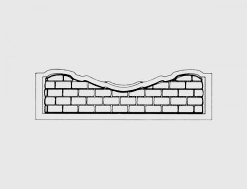 Бетонный забор тип 5